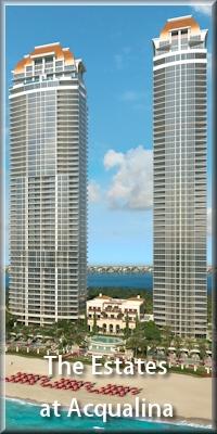 The Estates at Acqualina sales 305-726-4312